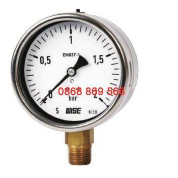 Đồng hồ đo áp suất Wise P253