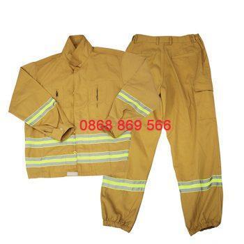 Bộ quần áo pccc theo thông tư 48