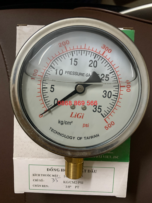 Đồng hồ đo áp suất Ligi