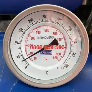 Đồng hồ đo nhiệt độ Yamaki chân sau