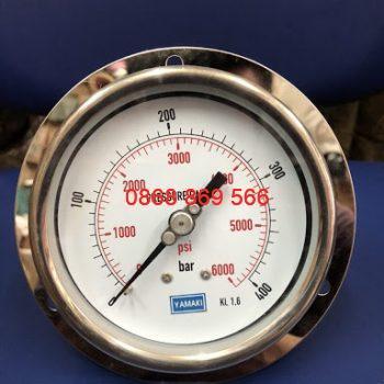 Đồng hồ áp suất Yamaki chân sau