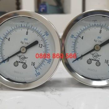 Đồng hồ đo áp suất Hawk - Đài Loan