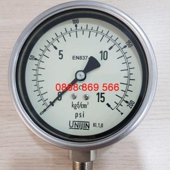 Đồng hồ đo áp suất Unijin P252