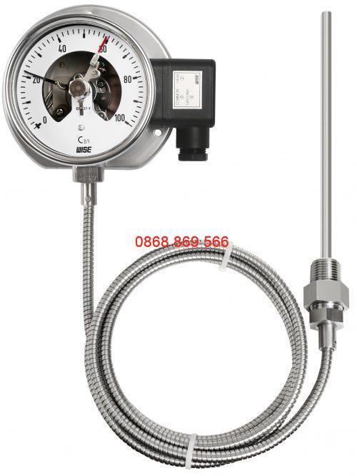 Đồng hồ đo nhiệt độ có tiếp điểm điện T520