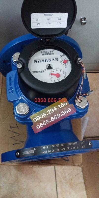 Đồng hồ nước thải Zenner