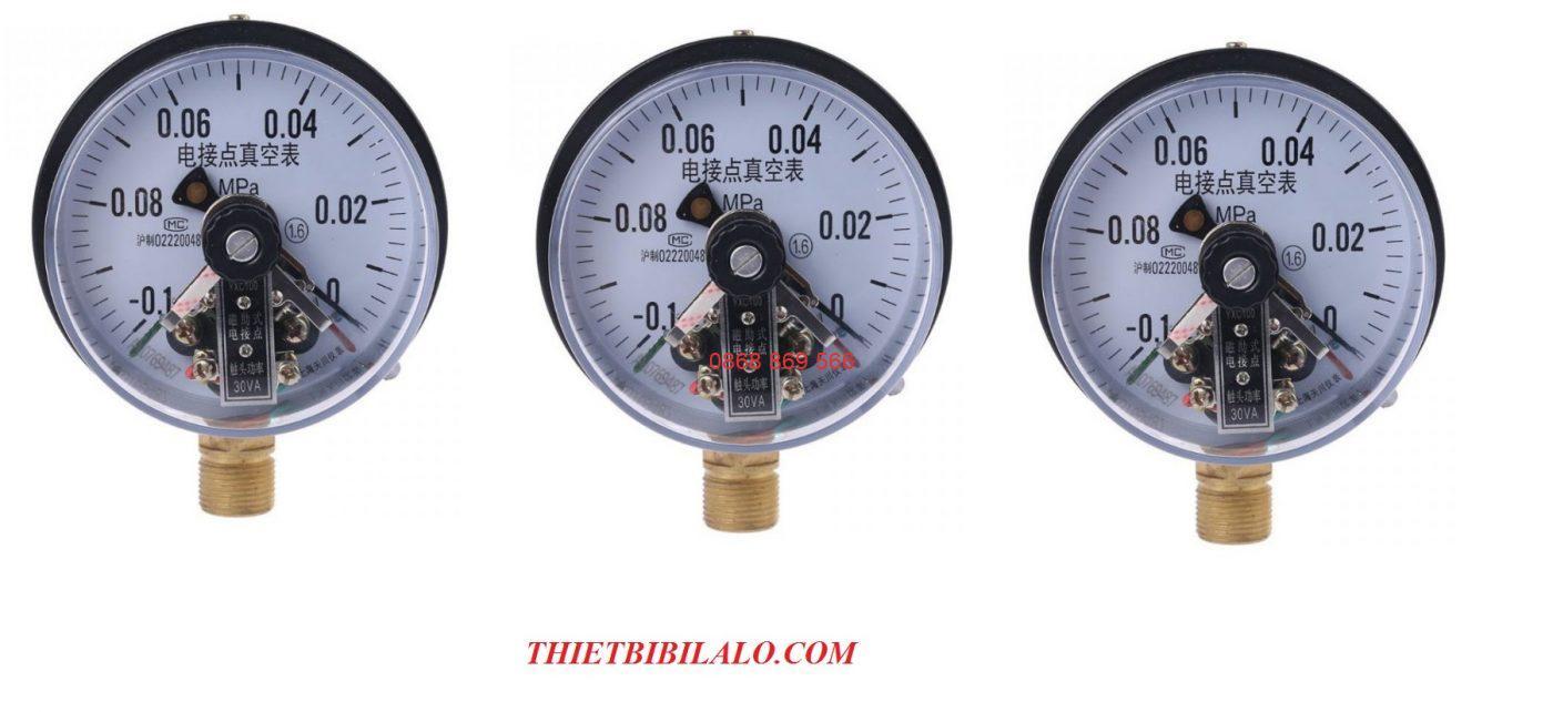 đồng hồ áp lực 3 kim