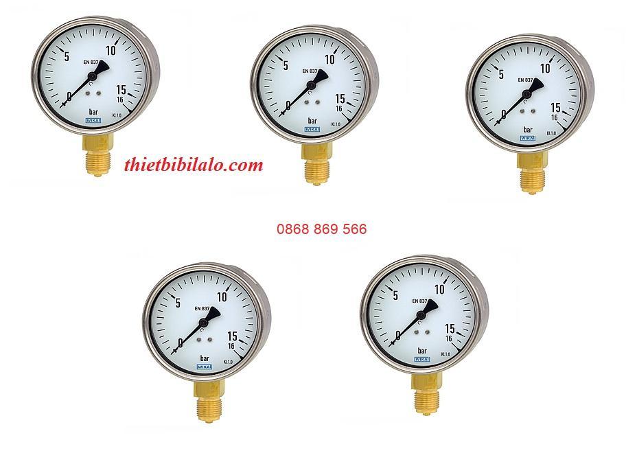 đồng hồ áp suất Wika 111.10