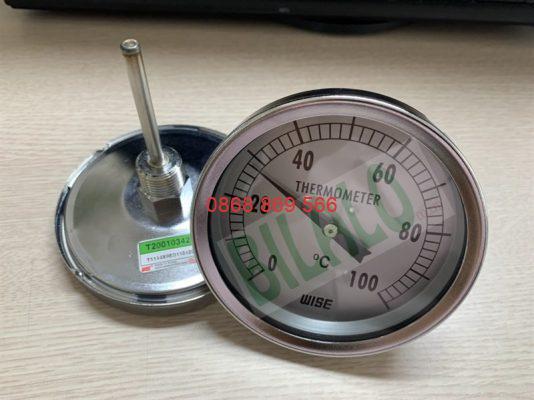 đồng hồ nhiệt độ wise