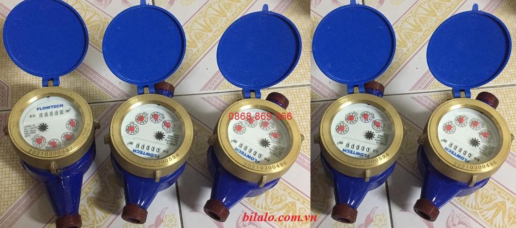 đồng hồ đo nước lắp ren